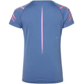 asics Icon - Camiseta Running Mujer - azul